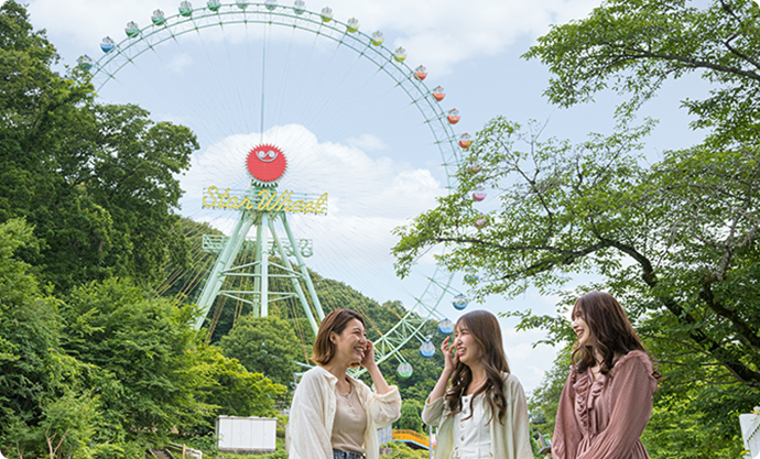 Enjoy Nature at a Theme Park! Feel the Magnetism of Thrill Mountain!